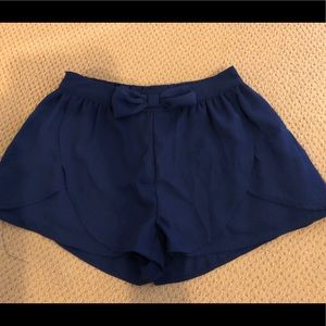 Navy Flow Shorts